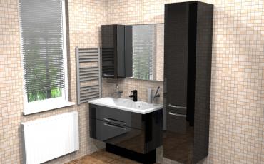 Мебели для ванных комнат модерн