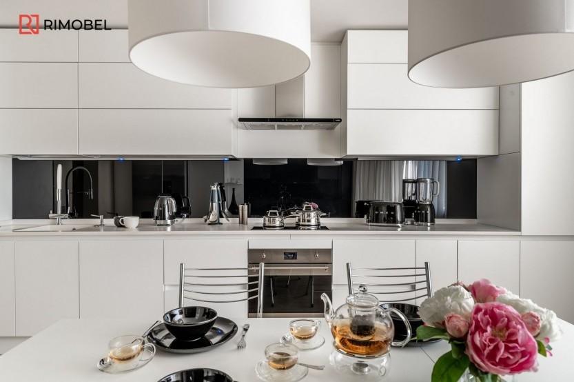 Bucătărie modernă Chișinău str, Mircea cel Bătrîn 31 Bucătării moderne mobila