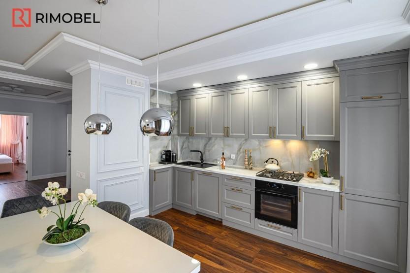 Apartament mobilat în stil scandinav str. N.Testemițeanu 3 Bucătării Neoclasice la comanda
