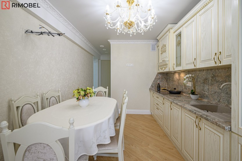 Кухня классика, Кишинев, улица Николае Димо Кухни из шпона  la comanda chisinau