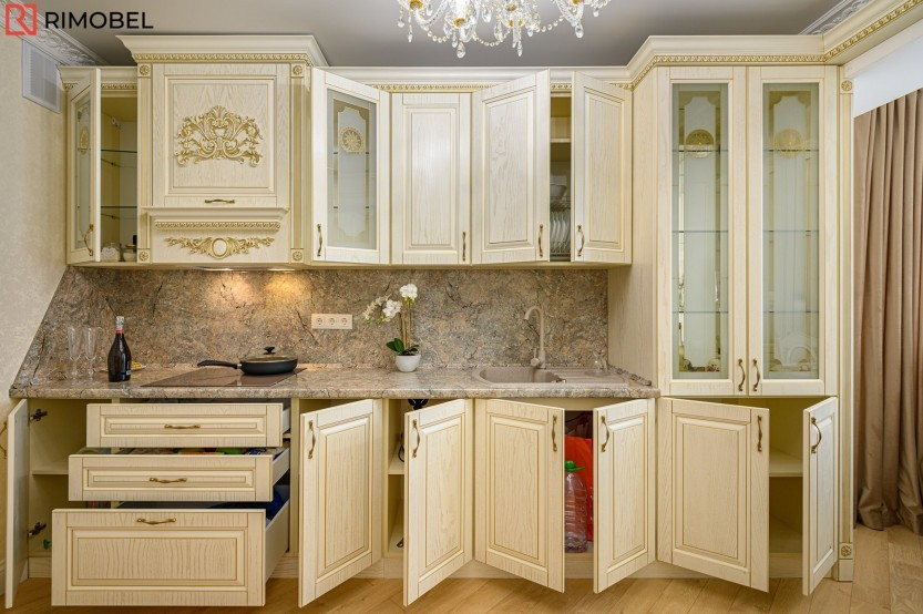 Кухня классика, Кишинев, улица Николае Димо Кухни из шпона  mobila