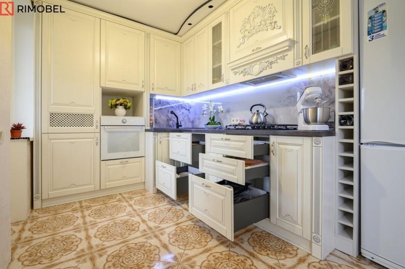 Кухня МДФ из шпона, Валя Маре, улица Салкымилор, 105 Кухни из шпона  mobila