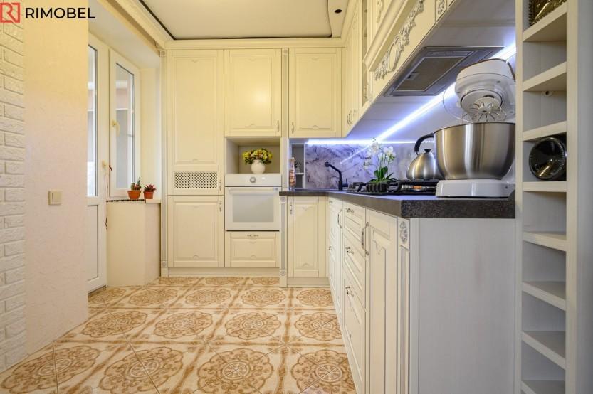 Кухня МДФ из шпона, Валя Маре, улица Салкымилор, 105 Кухни из шпона  la comanda chisinau