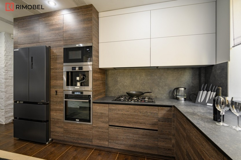 Bucătărie modernă, Porumbeni, str. Renașterii, 8 Bucătării moderne la comanda chisinau
