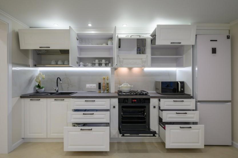 Bucătărie neoclasică, Orhei, strada 1 Mai, 57 Bucătării Neoclasice la comanda