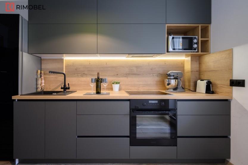 Bucătărie modernă, Bubuieci, strada Seghei Lazo, 47 Bucătării moderne la comanda chisinau