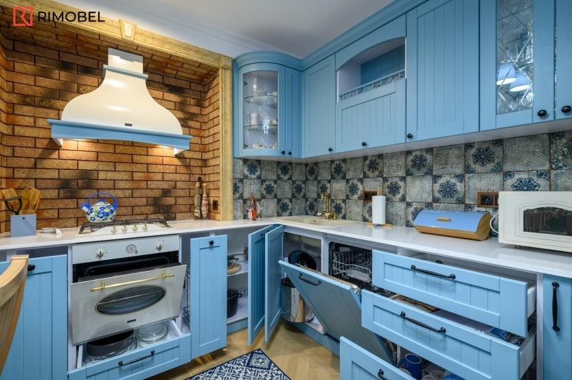 Bucătărie neoclasică, Durlești, strada Nicolae Gribov, 51A Bucătării Neoclasice mobila