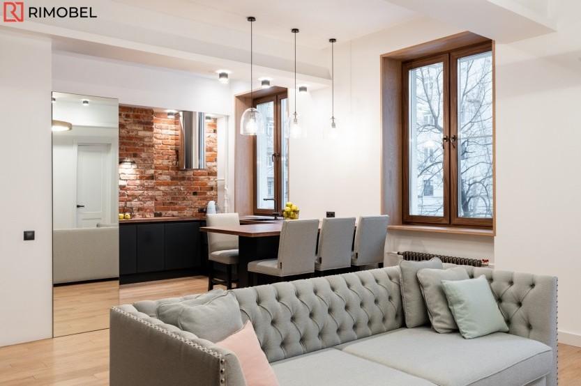 Гостиная в стиле модерн, Кишинёв, улица Трандафирилор, 2/2 Мебель для гостиной la comanda