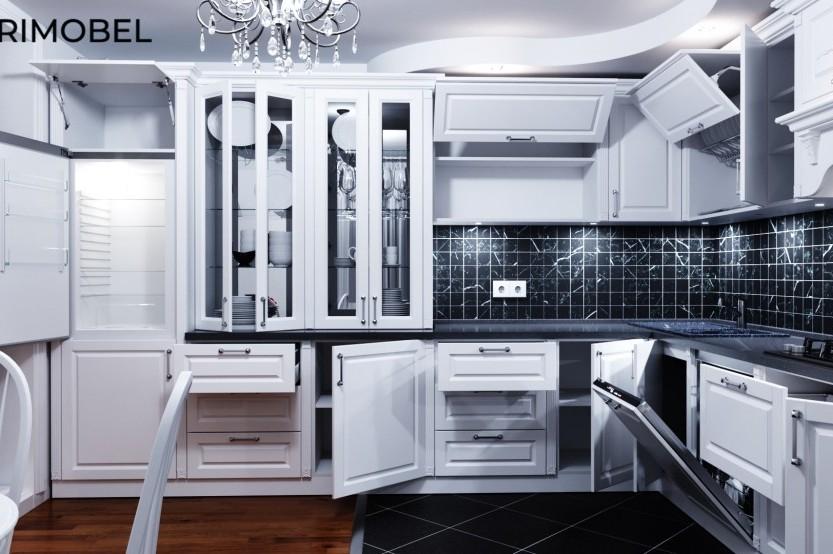 Bucătărie neoclasică, orașul Bălți Bucătării Neoclasice mobila