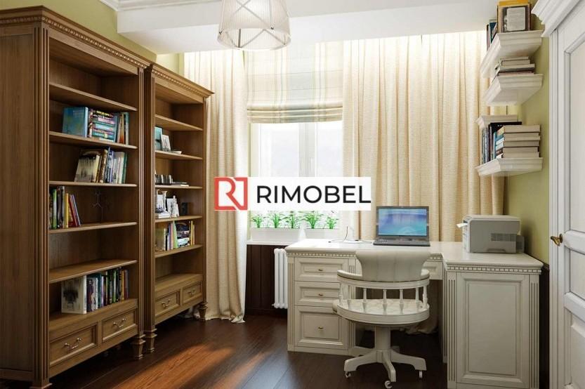 Mini-dulap cu bibliotecă stil clasic Rafturi mobila