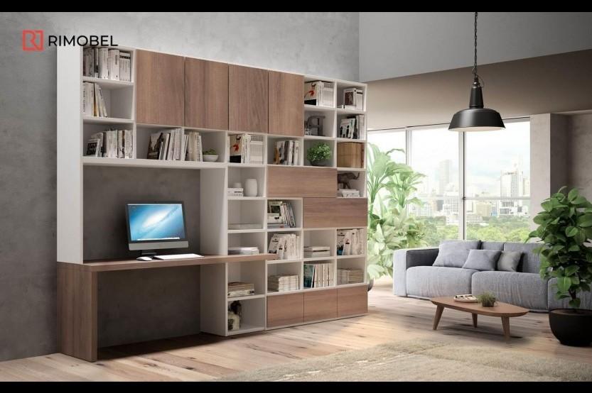 Библиотека в Гостиной Мебель для гостиной la comanda