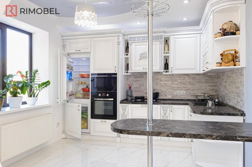 Белая кухня в классическом стиле Классические кухни mobila