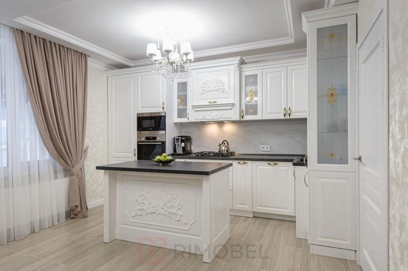 Bucătărie neoclasică Chișinău, str. M. Sadoveanu 15 Bucătării Neoclasice la comanda chisinau