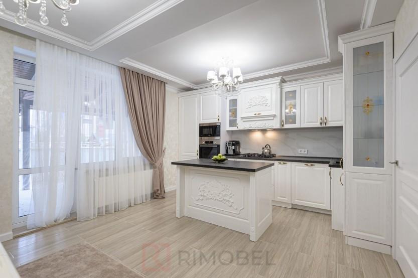 Bucătărie neoclasică Chișinău, str. M. Sadoveanu 15 Bucătării Neoclasice la comanda