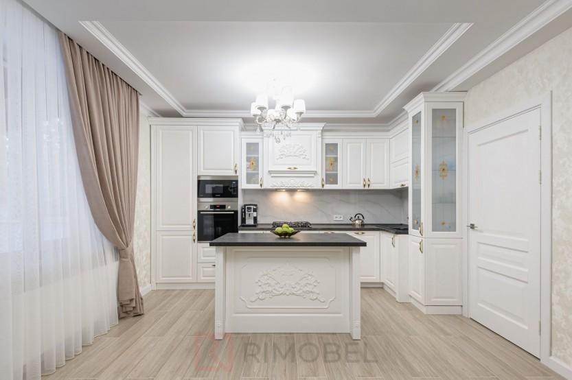 Bucătărie neoclasică Chișinău, str. M. Sadoveanu 15 Bucătării Neoclasice mobila