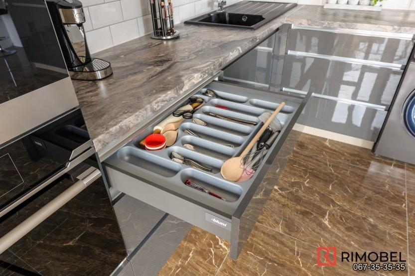 Кухня модерн Хынчешты село Logănești Современные кухни la comanda chisinau