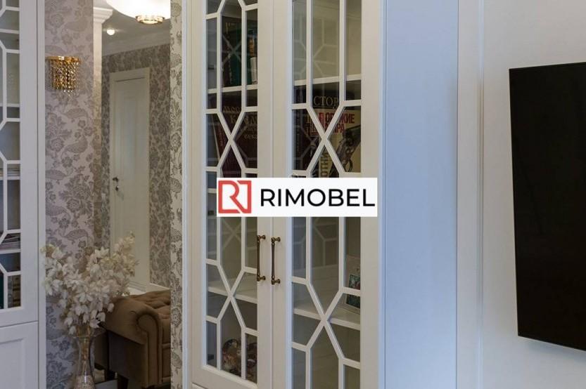Шкаф в гостиную в стиле неоклассик Классические шкафы la comanda chisinau