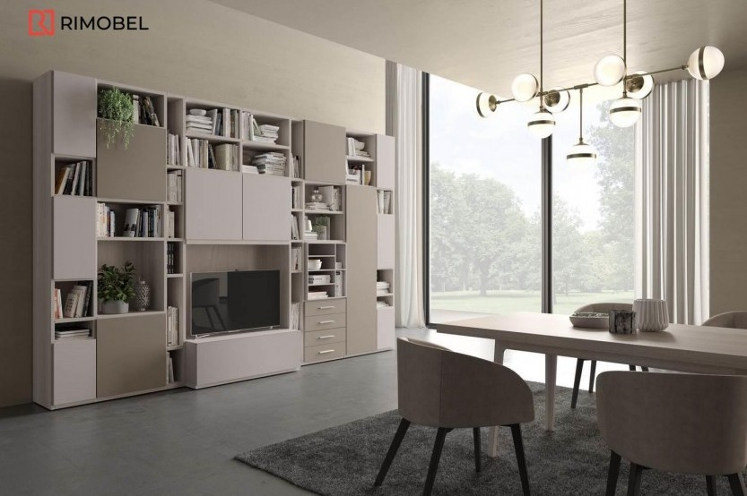 Living MDF mat Soft-Touch Sufragerie / Living mobila