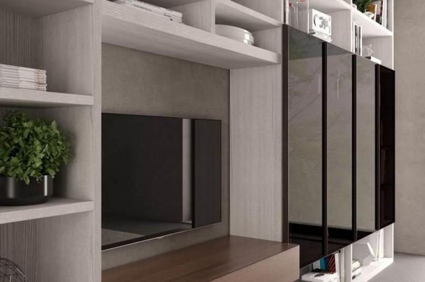 Living Pal dublu texturat Sufragerie / Living la comanda chisinau