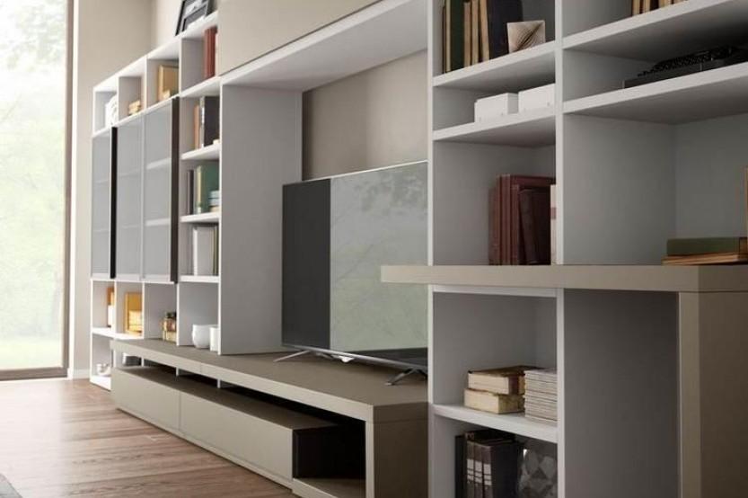 Гостиная в современном стиле Мебель для гостиной la comanda