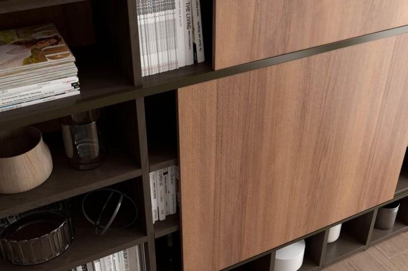Шпонированная мебель в гостиной Мебель для гостиной mobila