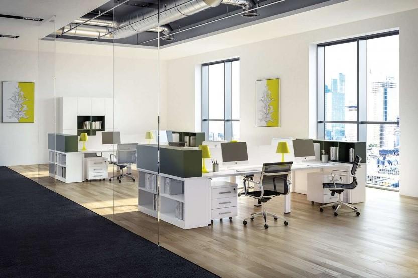 Офис Open Space 2 Коммерческая мебель la comanda chisinau