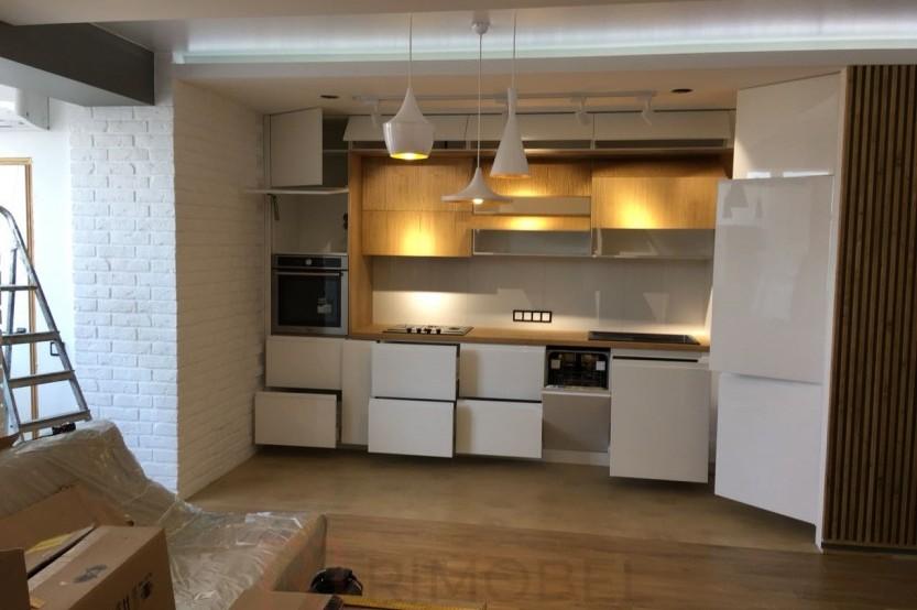 Bucătărie modernă Chișinău str. Ion Casian Bucătării moderne la comanda chisinau