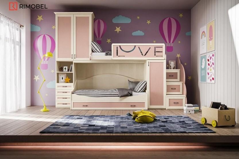 """Dormitor fetiță  """"Classic"""" Cameră copii fete la comanda chisinau"""