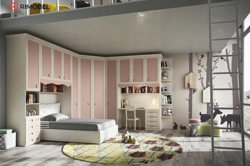 """Dormitor fetiță  """"Classic"""" Cameră copii fete la comanda"""