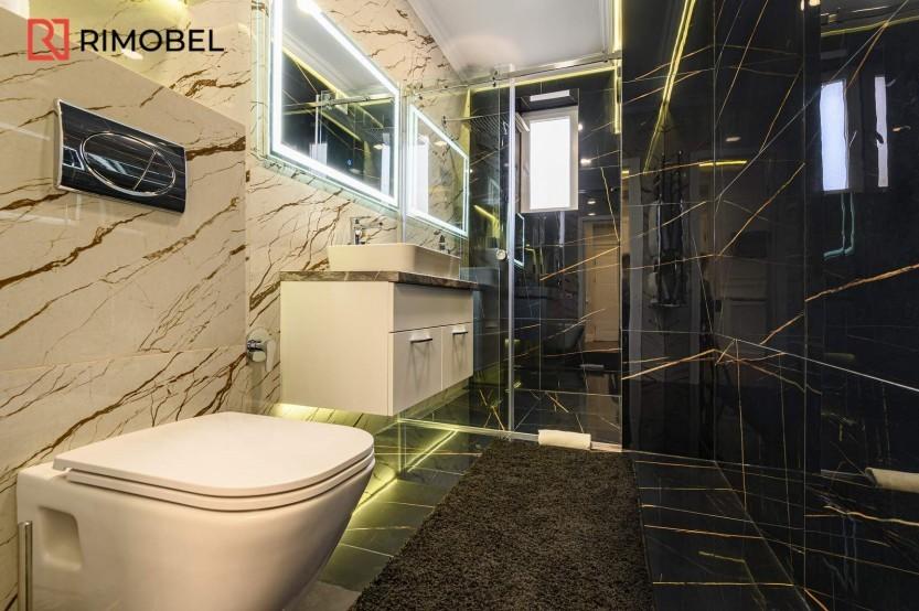 Dulap baie suspendat Mobilier modern pentru baie la comanda