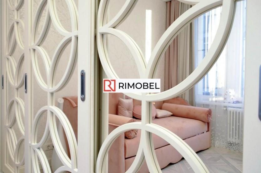 Dulap cu oglindă glisant pentru un dormitor Dormitoare din MDF mobila
