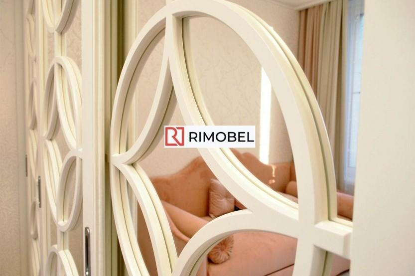 Dulap cu oglindă glisant pentru un dormitor Dormitoare din MDF la comanda