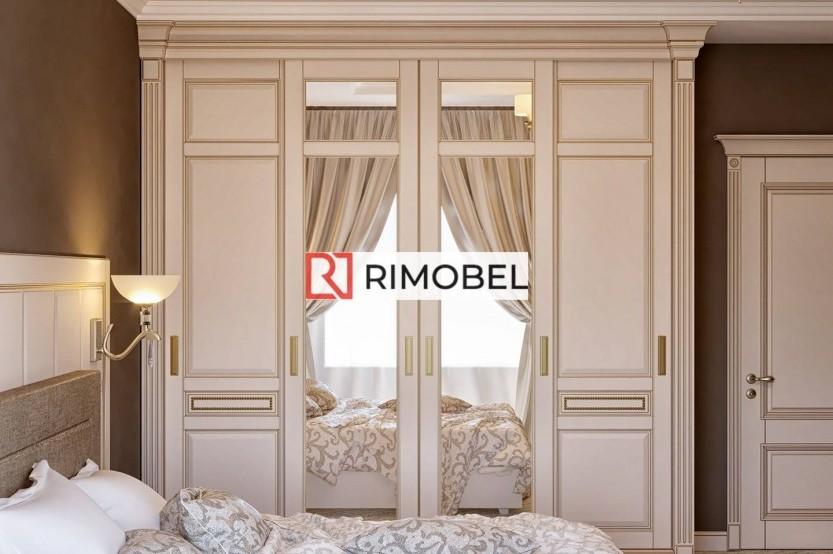 Dulap glisant pentru un dormitor în stil clasic Dulapuri-cupe la comanda