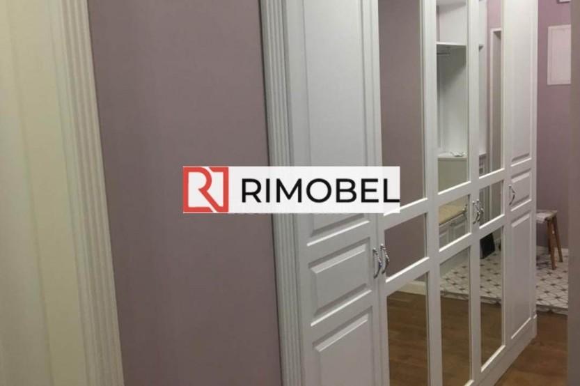 Шкаф в классическом стиле белый Шкафы в гостиной la comanda chisinau