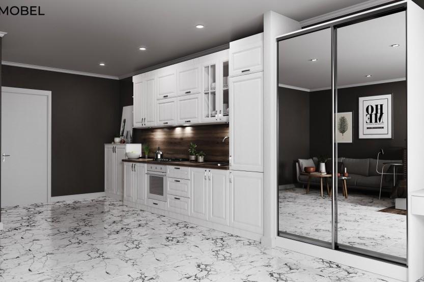 Bucătărie neoclasică, Fălești Bucătării Neoclasice mobila