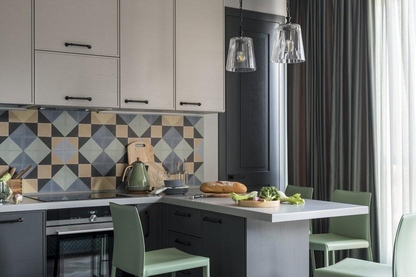 Bucătărie modernă, din MDF vopsit, Bălți Bucătării mdf vopsit la comanda chisinau