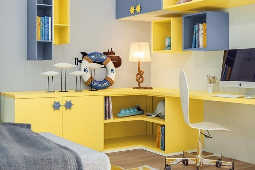 """Dormitor cu 2 paturi """"Evas"""" Cameră copii 2 paturi la comanda"""