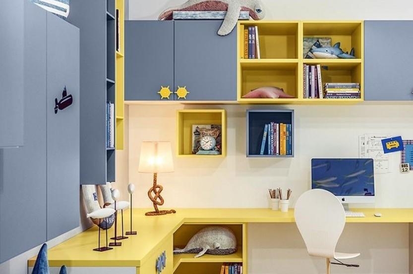 """Dormitor cu 2 paturi """"Evas"""" Cameră copii 2 paturi mobila"""