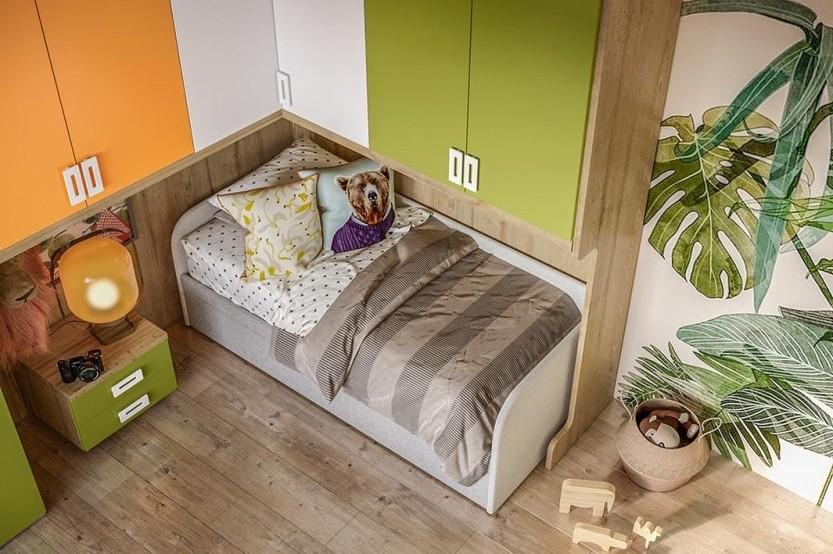 """Мебель для мальчиков """"Jungle"""" Детская комната для мальчиков mobila"""