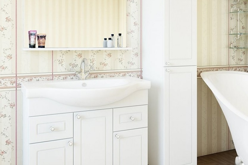 Mobilă baie model «Classic 7» Mobilier clasic pentru baie mobila