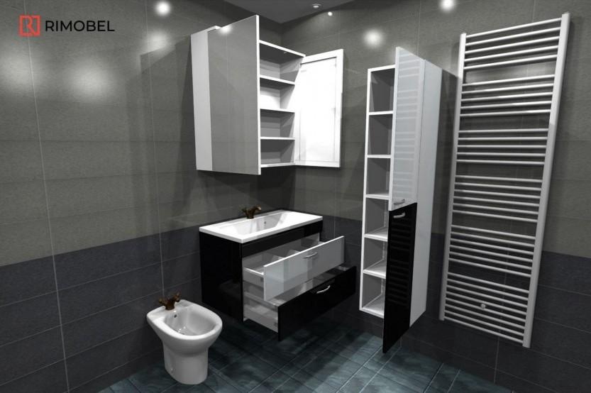 Мебель в ваную модель «Модерн 1» Мебели для ванных комнат модерн mobila