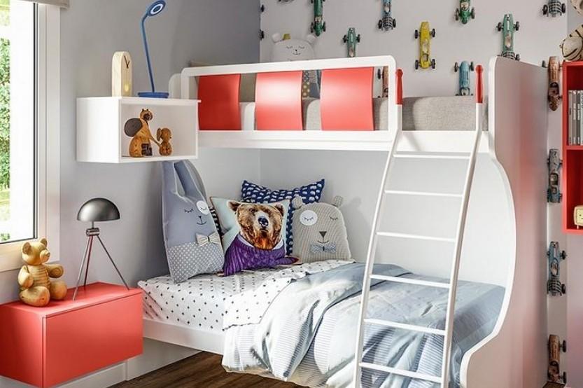 """Dormitor cu 2 paturi """"Nemo"""" Cameră copii 2 paturi mobila"""