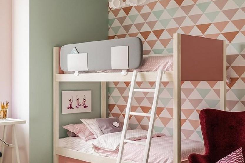 """Dormitor cu 2 paturi """"Caspian"""" Cameră copii 2 paturi mobila"""