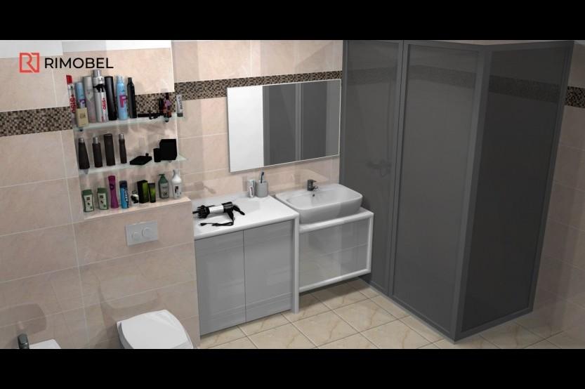 Мебель в ваную модель «Модерн 1» Мебели для ванных комнат модерн la comanda