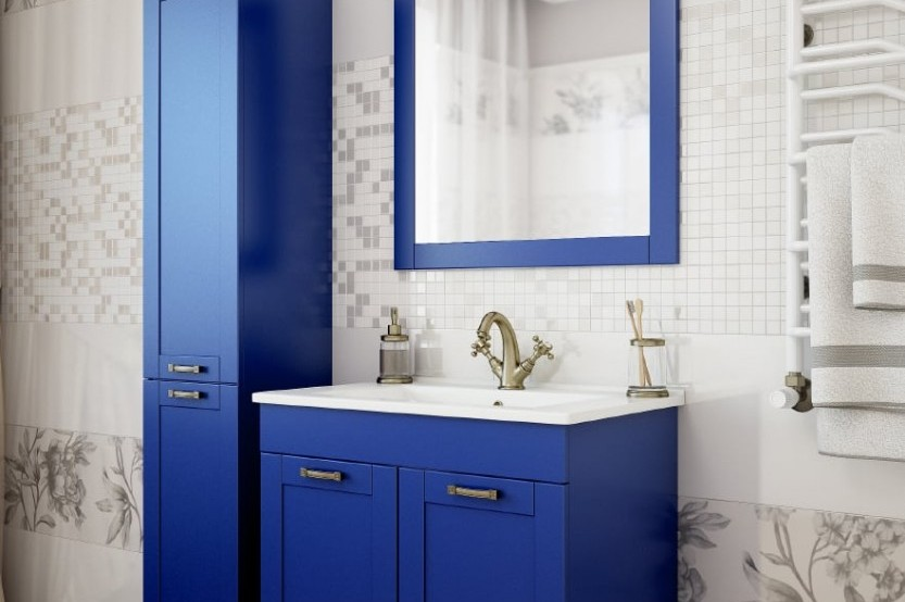 Mobilă baie model «Classic 5» Mobilier clasic pentru baie la comanda chisinau