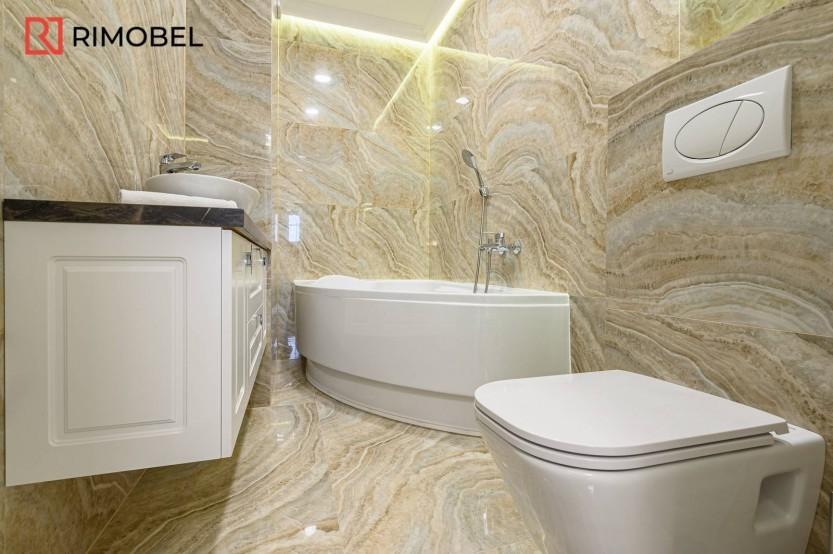 Dulap neoclasic pentru baie Mobilier clasic pentru baie la comanda chisinau