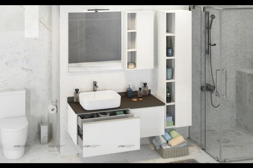 Mobilă baie model «Modern 4» Mobilier modern pentru baie la comanda chisinau