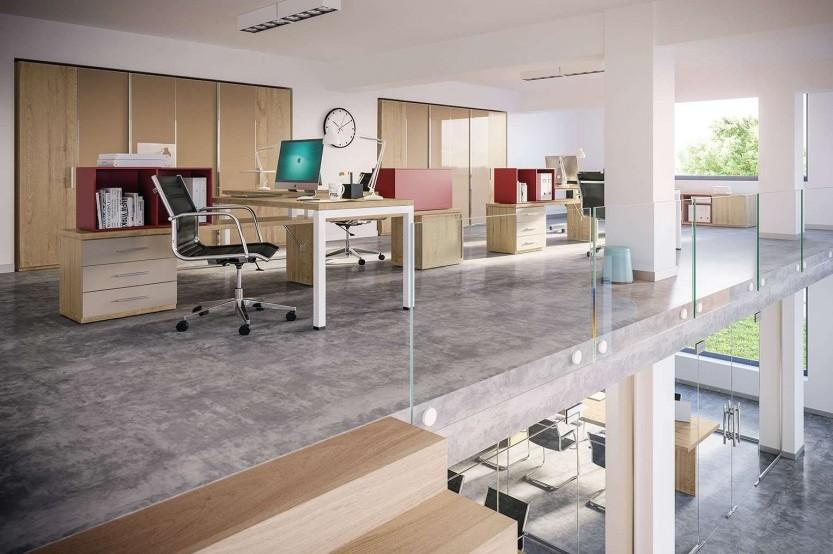 Двухэтажный офис Коммерческая мебель la comanda chisinau