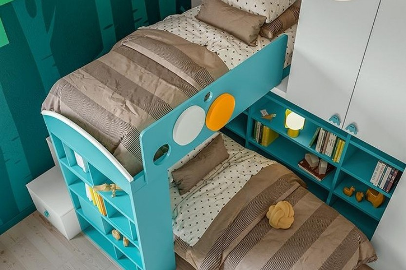 """Dormitor cu 2 paturi """"Тeenager"""" Cameră copii 2 paturi la comanda chisinau"""