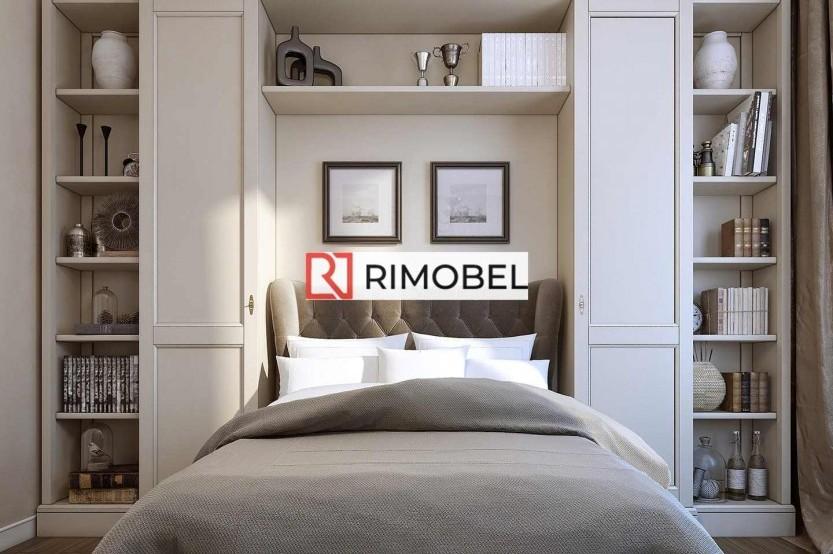 Dulapuri în capul patului în stil clasic Dormitoare din Lemn mobila